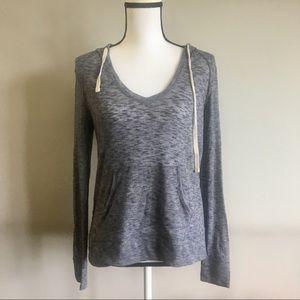 Lou & Grey Tops - Lou & Grey brushmarl crossover hoodie